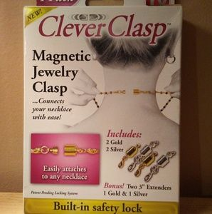 Jewelry - Clever Clasp Jewelry Extenders